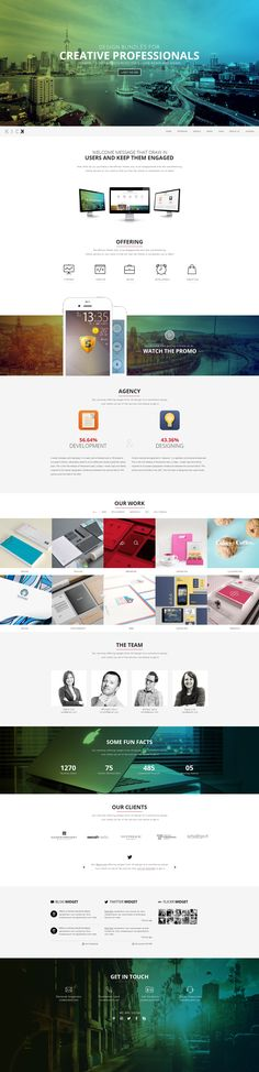 #template #onepage