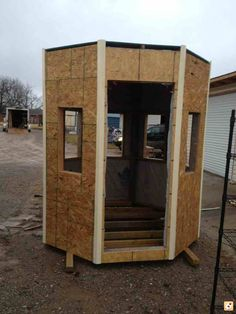 How to build an elevated deer blind 6x6 deer box stand for Octagon deer blind plans