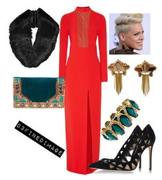 """""""Untitled Slay 3"""" by d3finedimage on Polyvore featuring Tom Ford, Micky London, Gianvito Rossi and CORO"""