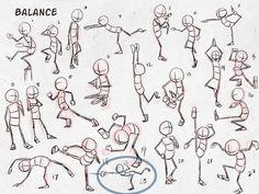 Resultado de imagen de chibi action poses
