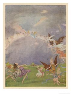 Fairies in Flight, by Florence Anderson