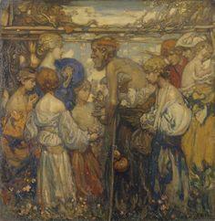 Frank William Brangwyn (1867-1958), Charity.