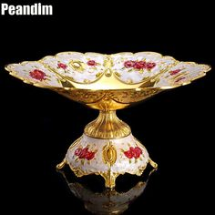 Luxury gold candy trays