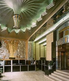 art deco interior design | Art deco interiors with a touch of Great Gatsby glamour | Shopping ...