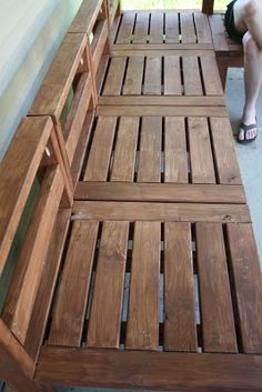 Create An Outdoor Corner Bench Unit FREE Plans And