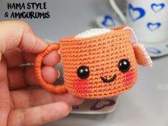 Marta Ruso Crochet Creativo: Taza de té amigurumi [PATRÓN GRATIS]