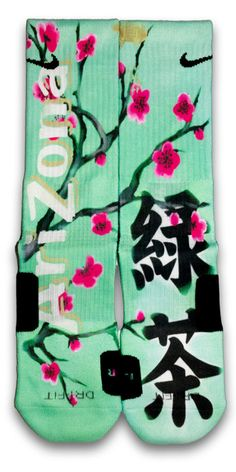We took the distinctive colors and pattern from our favorite beverage and made it into a pair of custom elites.