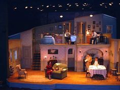 Broadway Bound Set Photo - Set Design by Daniel Robinson
