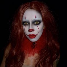 Clown makeup, Pennywise the clown
