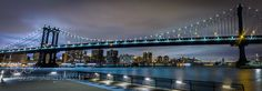 Blue Manhattan Nights - Pinned by Mak Khalaf It was cold and rainy. But I love this place. City and Architecture ManhattanManhattan bridgebridgecitycityscapehudson riverlong exposurenew york citynightnycriverskyurbanwater by mellymac318