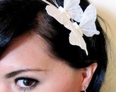 butterfly headband butterfly hair accessory bohemian от kaang