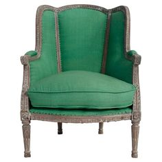Sorella Arm Chair in Green