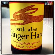 Bath Ales Ginger Hare - spicy ale with root ginger