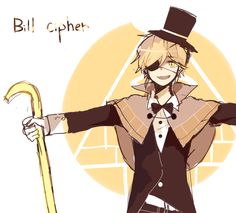 △ Gravity Falls- Bill Cipher △