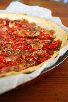 tarte à la tomate ultra simle