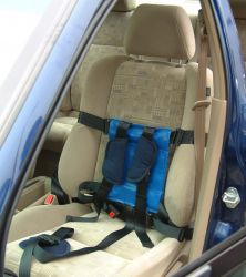 Special needs seatbelt harness for older children out of a car seat ...