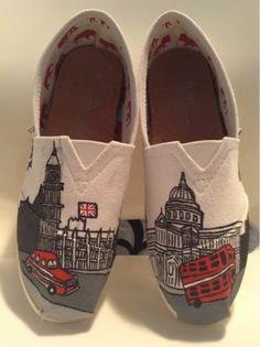 hayhay's fancy feet: London themed toms