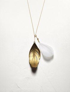 feathers. by Aurélie Bidermann.