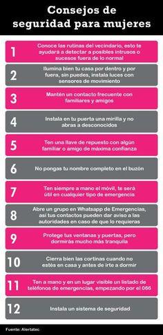 Consejos de Seguridad para Mujeres.