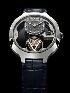 Louis Vuitton Unveils Bespoke Flying Tourbillon Poincon de Geneve Watch (prices) | ATimelyPerspective