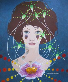 Peinture - Marina  Le Floch - La confiance