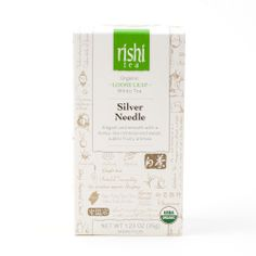 Rishi-Tea Silver Needle - Large Box http://rishi-shop.co.kr :D