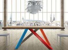 Tavolo pininfarina ~ Tavolo esteso wood di calligaris tavoli da pranzo