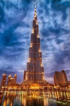 Burj Khalifa, Dubai. Designed by SOM.