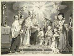 Giclee Print: La Pompadour, the New Play at the Haymarket Theatre : Seven Sacraments, Catholic Sacraments, Don Carlos, Saint Esprit, Religious People, Vintage Photos, Black And White, Pictures, Painting