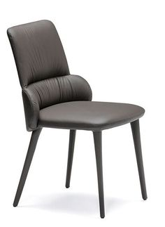 Side chair with steel frame, upholstery to back is sectioned and has creasing detail to inner back. Side Chairs, Dining Chairs, Armless Chair, Steel Frame, Accent Chairs, Upholstery, Mid Century, Wood, Furniture