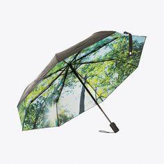 Forest Umbrella (65 CAD) ❤ liked on Polyvore featuring accessories, umbrellas, wind proof umbrella and windproof umbrella
