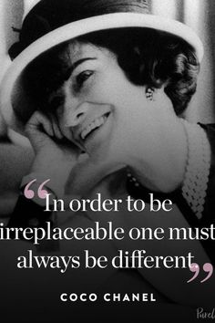 Coco Chanel quotes are the perfect antidote when we need some style advice spiked with a measure of sass! Click through for 16 of the best Coco Chanel quotes to guide your life and style. Estilo Coco Chanel, Quotes To Live By, Me Quotes, Lady Quotes, Girly Quotes, Nature Quotes, Coco Chanel Quotes, Wax Lyrical, Come Undone