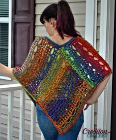 A poncho is an neglected reward to our world. They're cozy and heat, and might shield you from the rain. To not point out how trendy a crochet poncho might be. Some ponchos have a hood sample or a crochet cowl. Poncho Au Crochet, Pull Crochet, Crochet Poncho Patterns, Crochet Scarves, Free Crochet, Shawl Patterns, Crochet Vests, Crochet Edgings, Sweater Patterns