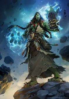 World of Warcraft Shaman Thrall Here are some of the best World of Warcraft Artwork I could find online.