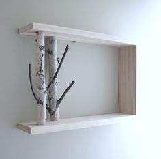 white birch forest  natural white birch wood by urbanplusforest, $40.00