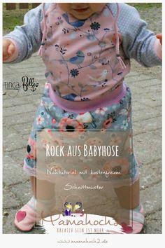 Nähanleitung: einen Rock aus der Hose Babypump Rockers nähen