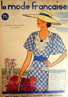Vintage French Fashion Magazine