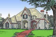 European Style House Plan #1