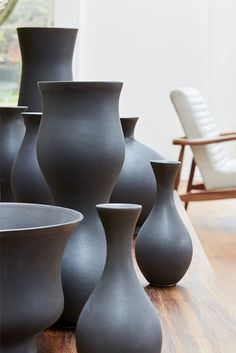 Complete your home with modern home accessories like our Eva Zeisel and KleinReid vases.