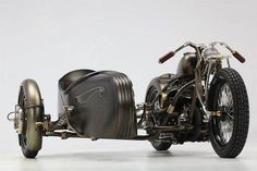 MOTORCYCLE AND SIDE CAR