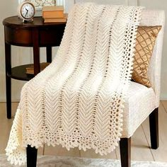 Lace Crochet Blanket | Pattern Center