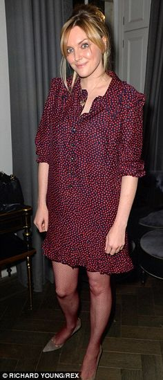 Special guests: Sophie Dahl (L) and Natalie Massenet (R) were amongst those in attendance at the event in London on Monday evening