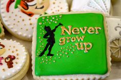"""Peter Pan cookies ordered from """"sweet arts"""" in Florida"""