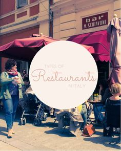 Restaurants in Modena may be called Enoteca, Osteria, Bar, Cafe, Ristorante. So many confusing names for restaurants in Italy! This post explains what they all mean, and which ones are the most expensive.