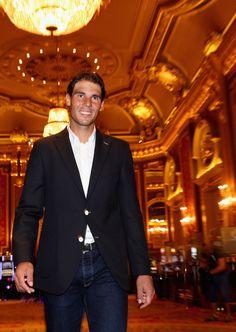 Rafael Nadal Photo - ATP Masters Series Monte Carlo - Ready for that Monte Carlo slow red clay.  Vamos, Rafa ; )