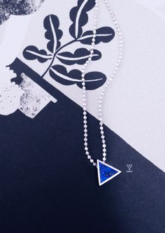 vingovietnamLapis Triangle Necklace - Vingo  Material: Silver sterling 925 and Natural Lapis lazuli gemstone.  Warranty: full live  Inbox to order http://facebook.com/vingovietnam  #hanoi #silver #vingo #handmade #ring #earing #bracelet #bangle #daisy #fashion #friends #like4like #smile #instamood #family #amazing #nofilter #style #follow4follow #sun #followforfollow #tflers #beach #lol #hair #cool #iphoneonly #girls #webstagram #funny