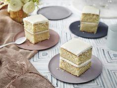 Food Cakes, Cupcake Cakes, Cupcakes, Basic Yellow Cake Recipe, 1234 Cake, Baking Recipes, Dessert Recipes, Easy Recipes, Delicious Recipes
