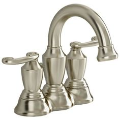 Pfister Sonterra Polished Chrome 2 Handle 4 In Centerset Watersense Labeled Bathroom Sink Faucet