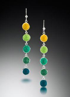 five drop earrings - Cara Romano