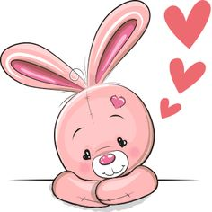 Lovable Rabbit Copy Send Share Send in a message, share on a timeline or copy and paste in your comments. Tatty Teddy, Bunny Images, Cute Images, Cute Pictures, Clipart Baby, Cute Easy Drawings, Belly Painting, Whimsical Art
